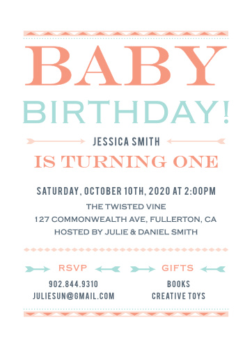 First birthday invitations 40 off super cute designs basic invite filmwisefo