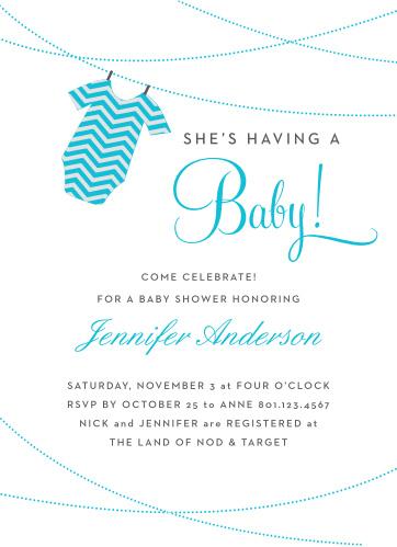 Boy Baby Shower Invitations Part - 40: Basic Invite