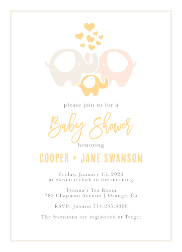 Baby shower invitations for girls basic invite filmwisefo