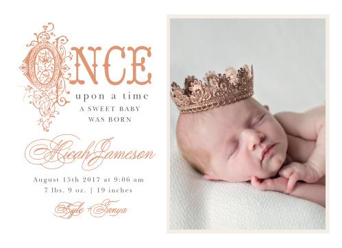 foil birth announcements 40 off super cute designs basic invite