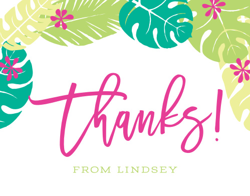 Sweet Sixteen Thank You Cards Match Your Color Style Free