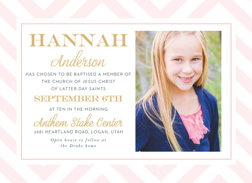 Foil Baptism Invitations Foil Christening Invitations Basic Invite