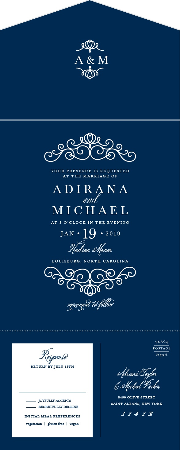Seal And Send Wedding Invitations Wedding