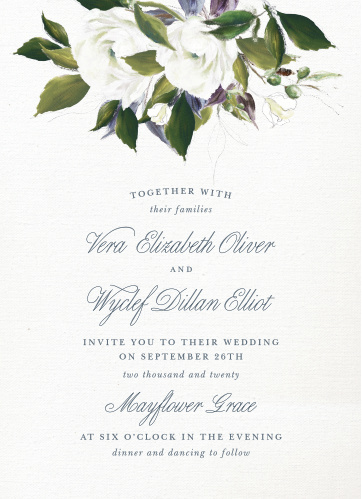 Wedding invitations match your color style free stopboris Choice Image