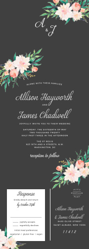 Seal And Send Wedding Invitations All In One Wedding Invitations
