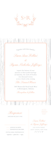 Seal and Send Wedding Invitations, All-in-One Wedding Invitations ...