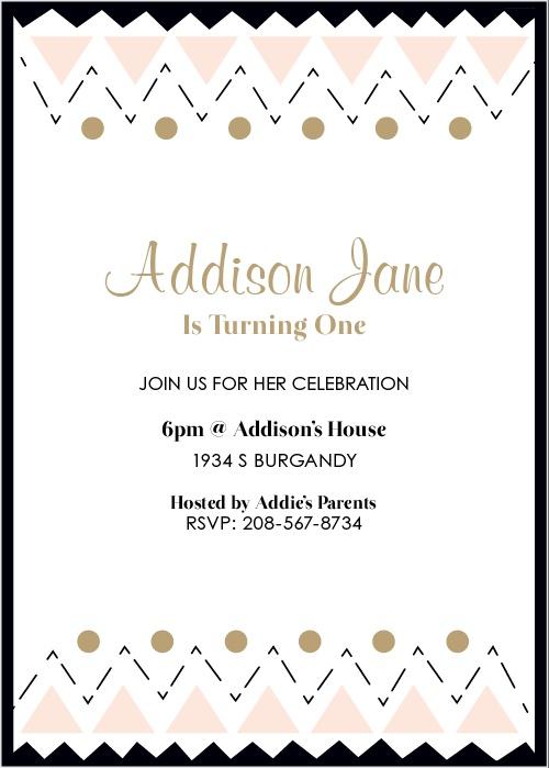 Birthday invitations birthday party invites basic invite filmwisefo