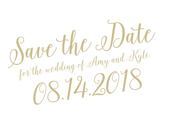 Save The Date Postcards – Wedding Save the Date Postcards