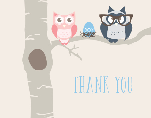 Baby Shower Thank You Cards | Match Your Color U0026 Style Free   Basic Invite