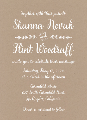 Page 2 wedding invitations without photos junglespirit Image collections