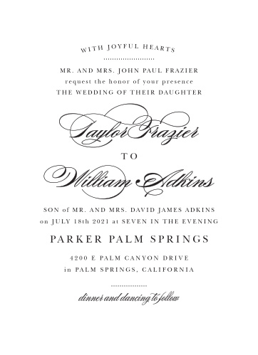 Wedding invitations match your color style free stopboris Gallery