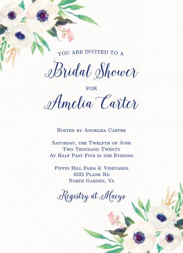 bridal shower invitations wedding shower invitations basicinvite - Wedding Shower Invitation