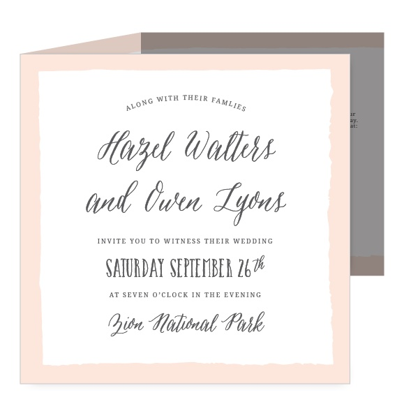 wedding invitations match your color style free number of