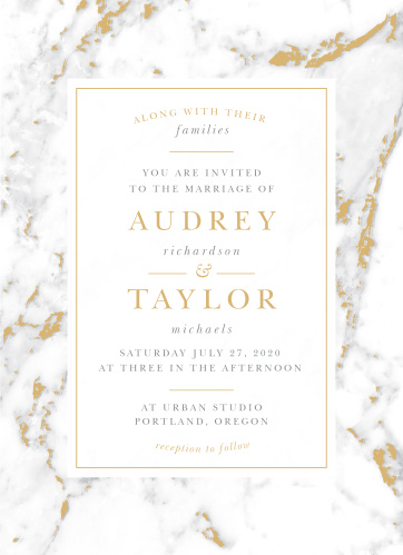 Foil stamped wedding invitations gold silver rose gold basic foil stamped wedding invitations gold silver rose gold basic invite junglespirit Images
