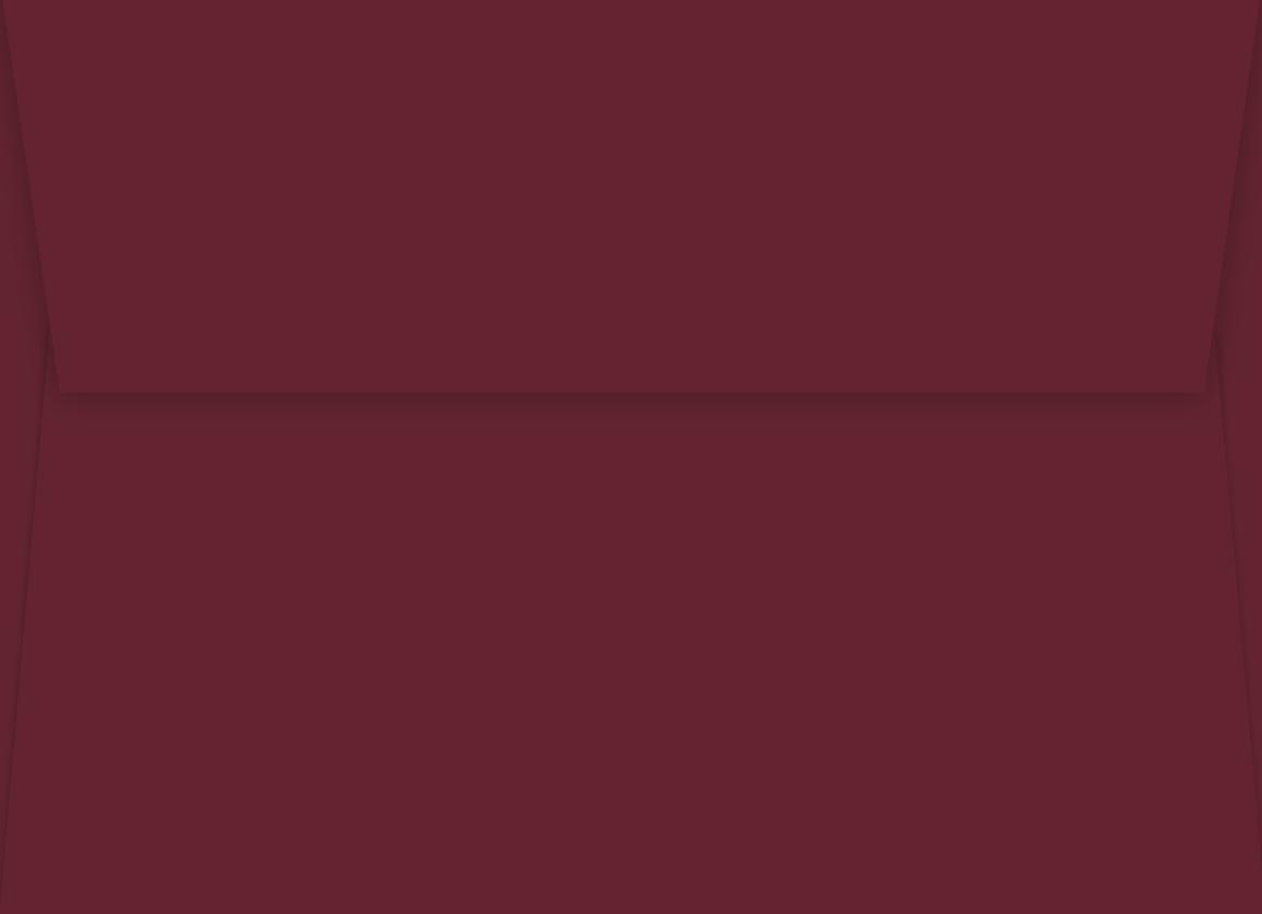 Envelope Cranberry