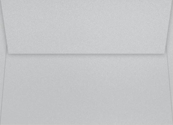 Envelope Pewter Shimmer