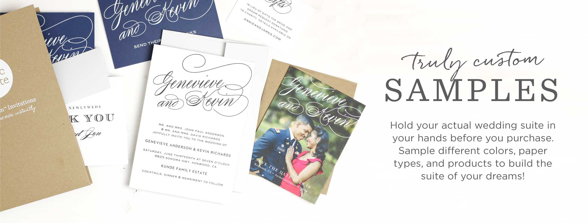 samples of wedding invitations