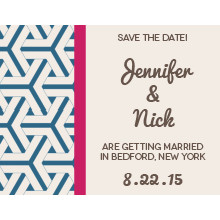 The Laredo Save-the-Date Card