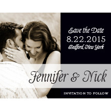 The Arlington Save-the-Date Magnet