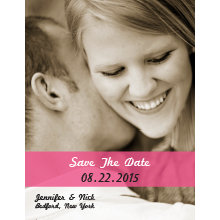 The Riverside Save-the-Date Magnet