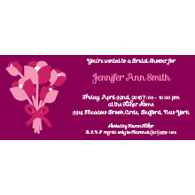 Bouquet Bridal Shower Invitation