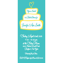 Cake Bridal Shower Invitation
