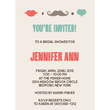 The Indianapolis Bridal Shower Invitation