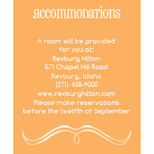 The Winston Accommodation Cards