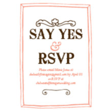 The Yellowstone RSVP Cards