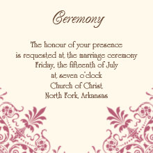 The Greensboro Ceremony Cards