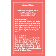 The Wichita Direction Cards