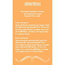 The Winston Direction Cards
