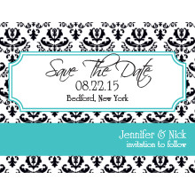 The Raleigh Save-the-Date Card