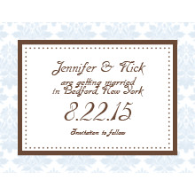 The Birmingham Save-the-Date Card