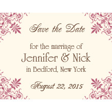 The Greensboro Save-the-Date Card