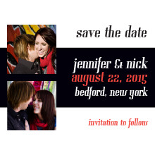 The Glendale Save-the-Date Card