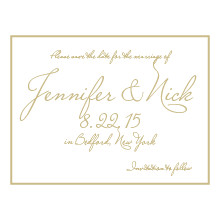 The Chandler Save-the-Date Card