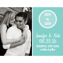 The Kansas City Save-the-Date Card