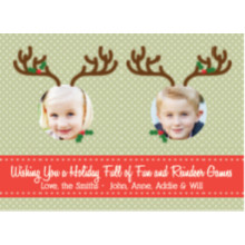The Reindeer Games Holiday Card