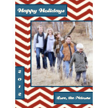 The Chevrons Holiday Card