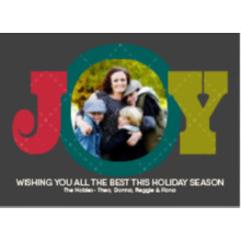 The Joy Holiday Card