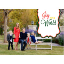 The Joy to the World Wide Holiday Card