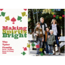 The Making Spirits Bright Holiday Card