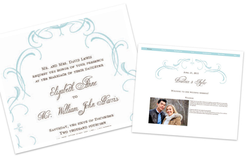 Free Basic Invite Themed Wedding Website Now Available – Party Invite Website