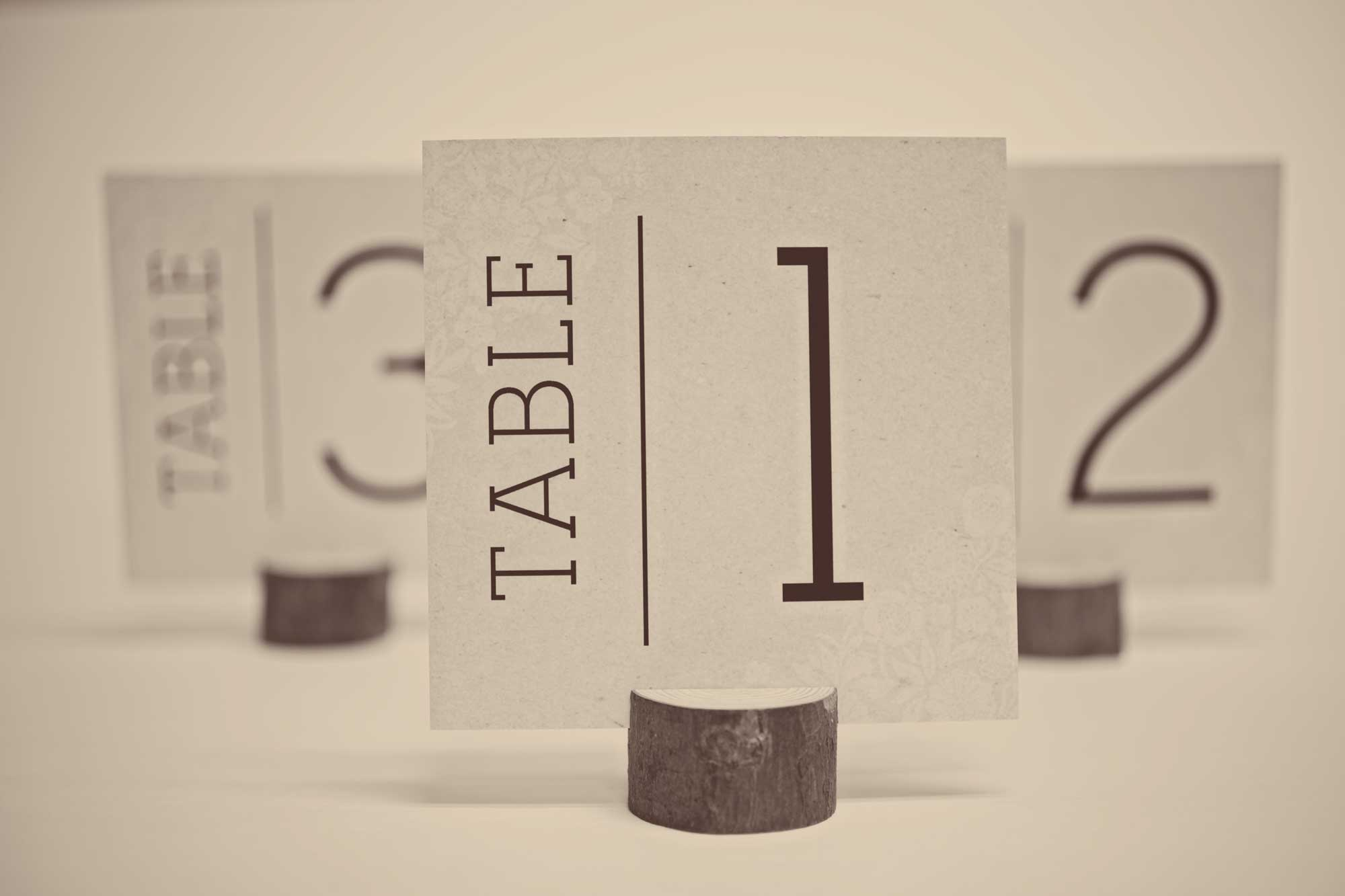 Free printable table number cards wedding designer for Table 52 cards 2014