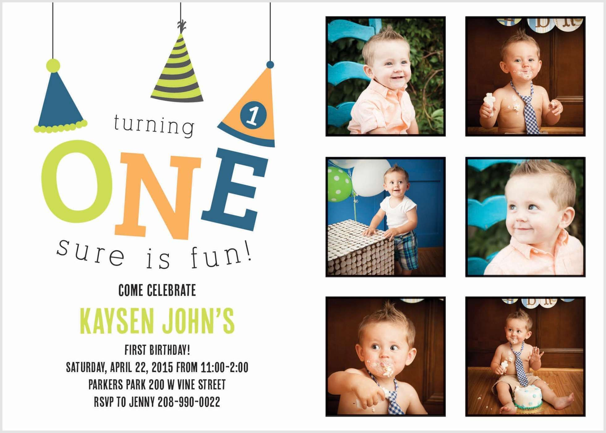 Introducing First Birthday Cards from Basic Invite