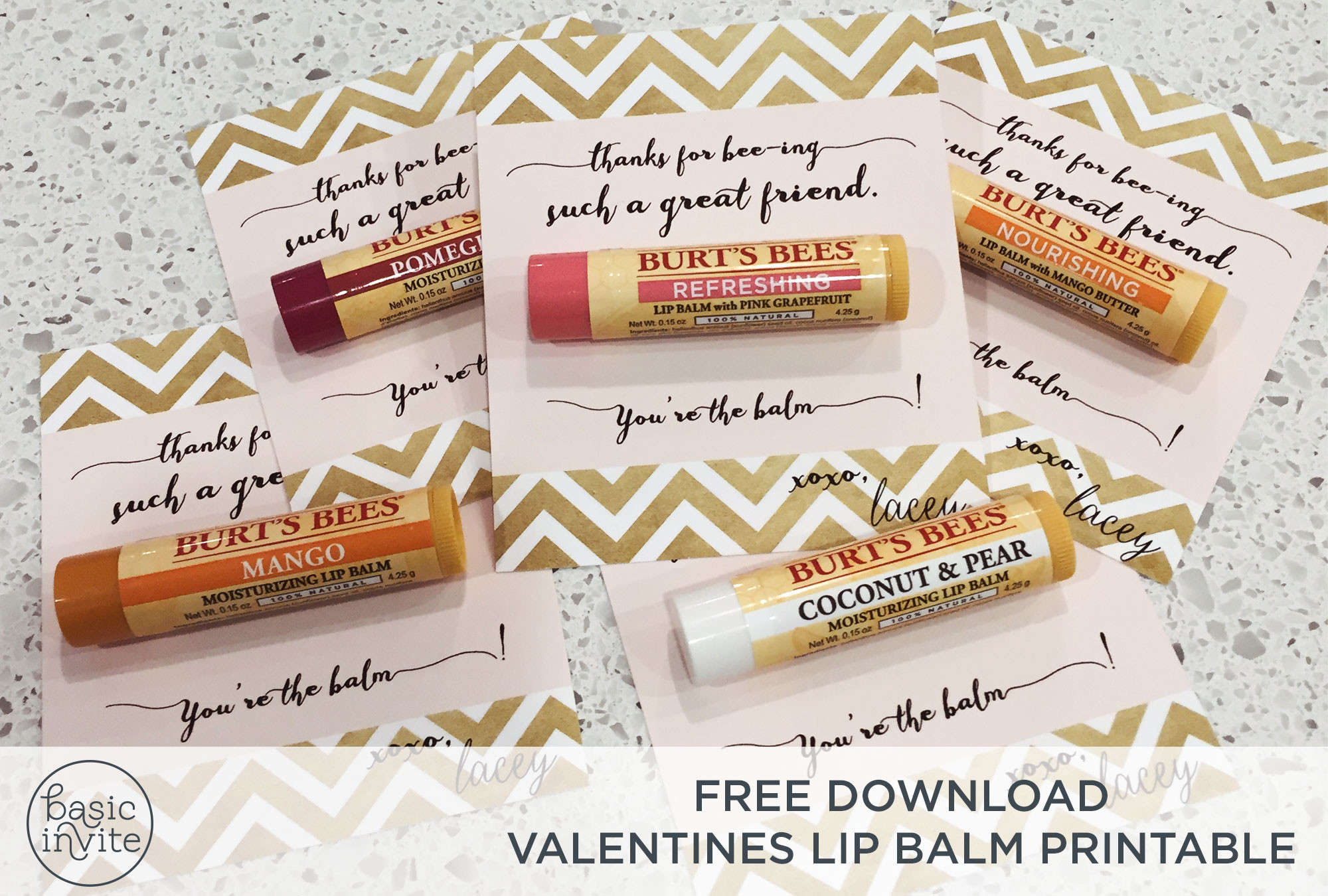 Free Valentines Printable Download