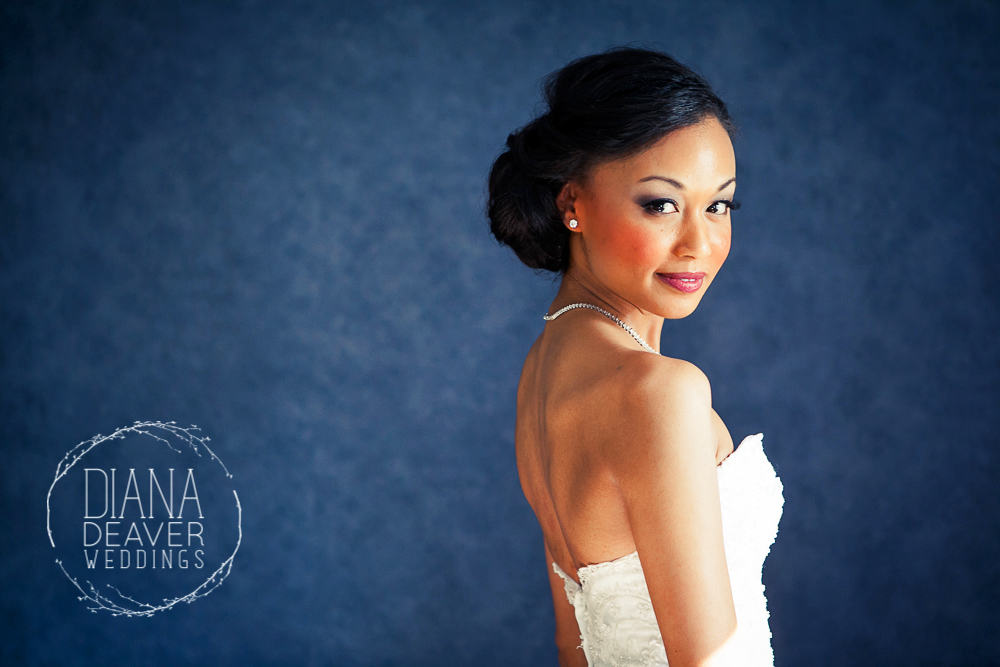 bridal portrait- diana deaver weddings charleston