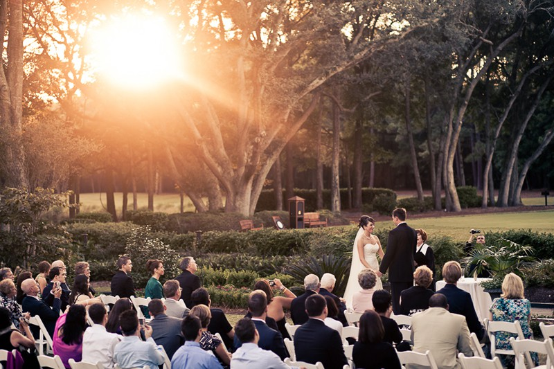 ceremony on hilton head island photo by diana deaver