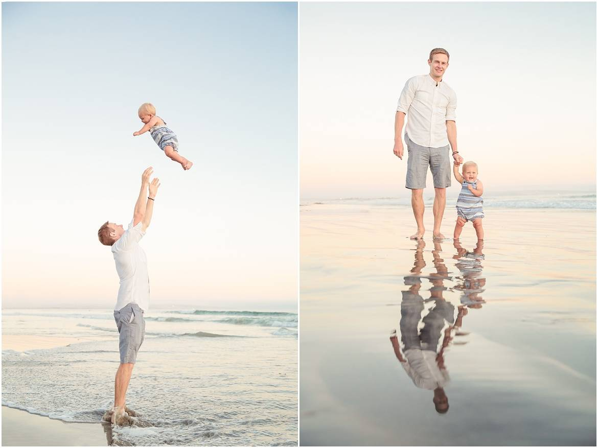 Dad with Baby | San Diego Photography | Amy Gray Photography